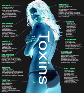 Toxins cause disease