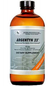 argentyn 23 intravenous therapy